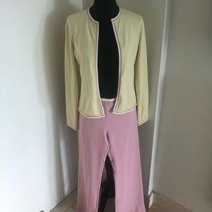 Chanel 04C vintage cardigan & pant preloved sweet